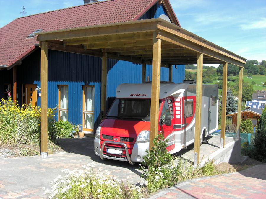 MULTI-Wohnmobilcarport mit hoher Schneelast