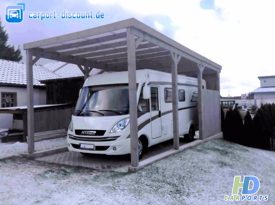HD Wohnmobilcarport in 4x8m