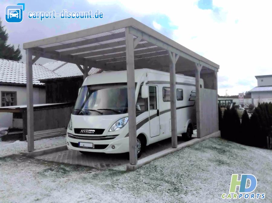 HD Wohnmobilcarport bauseitig gestrichen