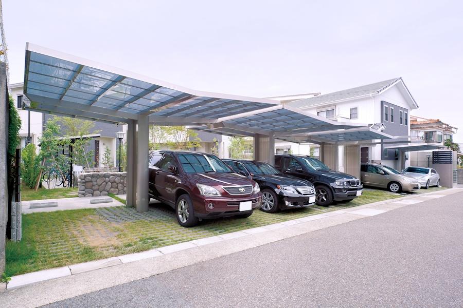 Carportanlage Designcarports Monaco Double Wide