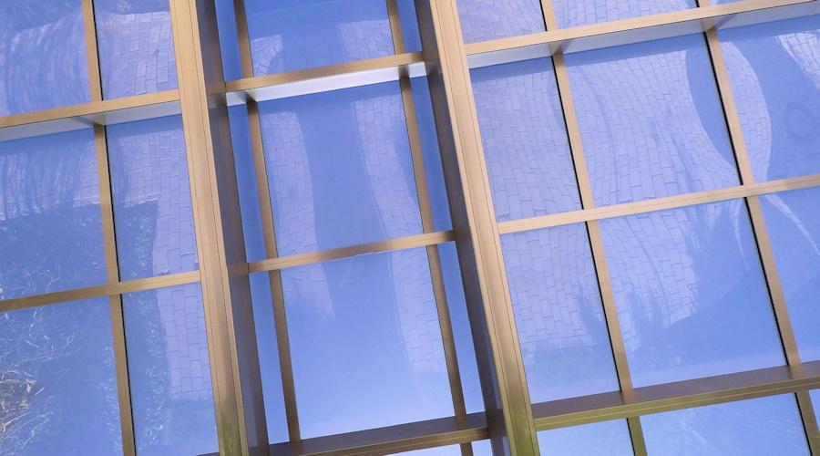 Carportdach AluPort: Polycarbonat rauchblau - hagelsicher, UV-Schutz, Hitzeschutz