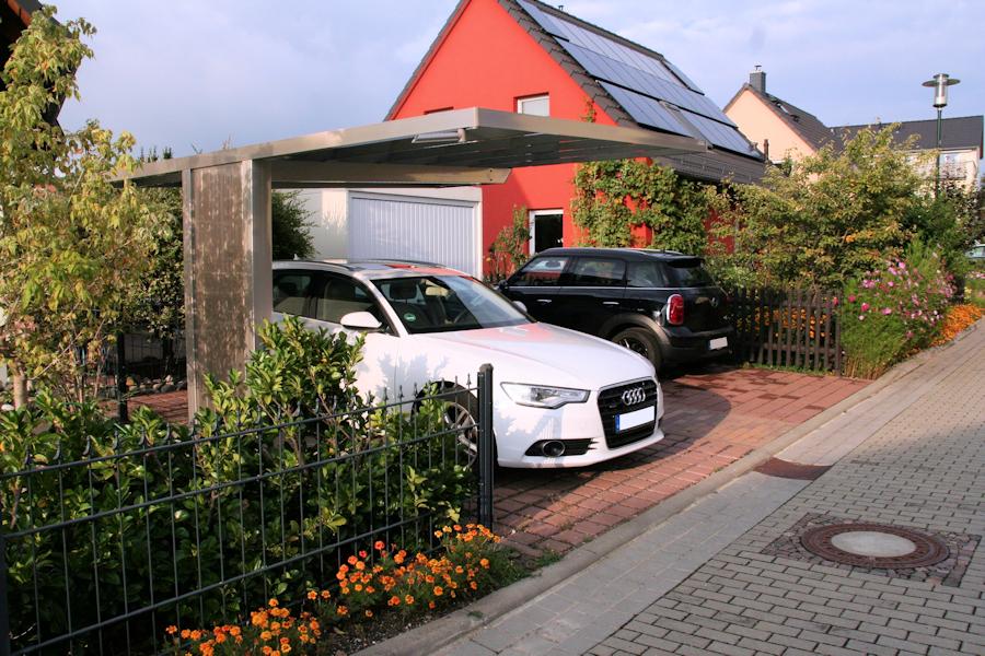 Carport Design Aluminium: AluPort Monaco - Made in Japan