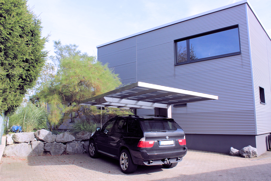 Carport AluPort Monaco: Pflegeleicht, hagelsicher, UV-Schutz, Hitzeschutz