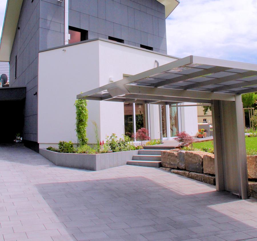 Design: Carport AluPort Monaco
