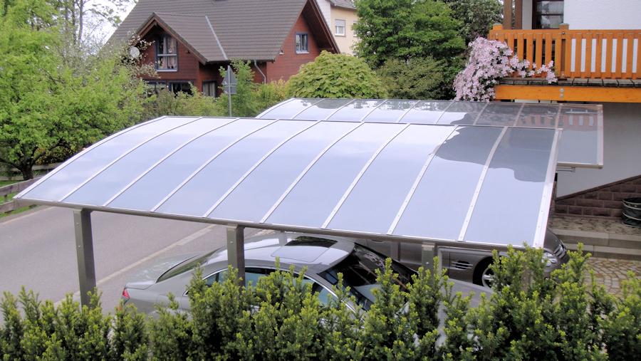 Dach AluPort Nagoya - hagelsicher, UV-Schutz, Hitzeschutz