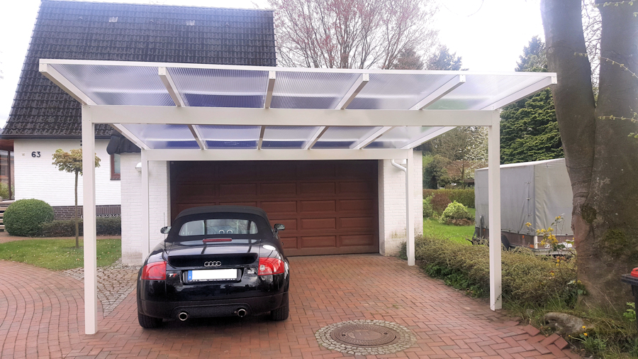 Beautiful carport aluminium ideen tips idee n for Beckmann aluminium carport