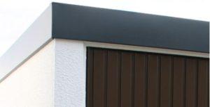 Ausschnitt Durobox Garage Blende